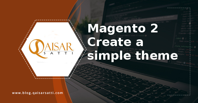 Magento 2  create a simple theme