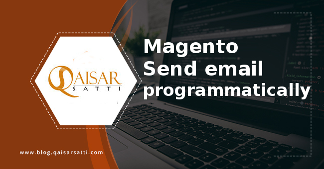 Magento Send email programmatically