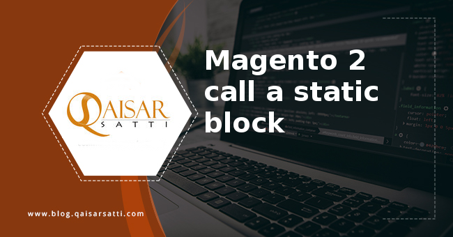 Magento 2 call a static block
