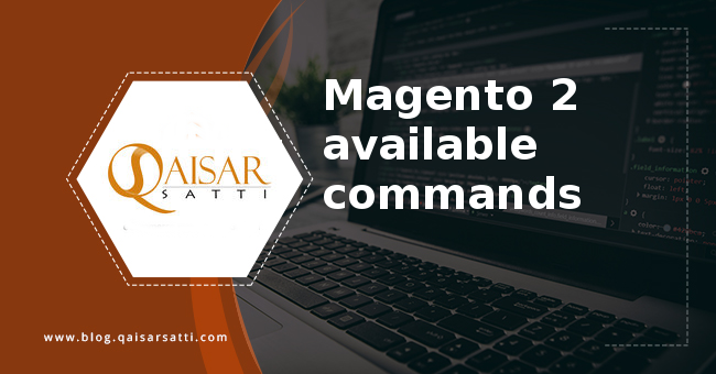 Magento 2 available commands