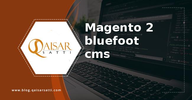 Magento 2 bluefoot cms