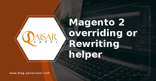 Magento 2 overriding Rewriting helper
