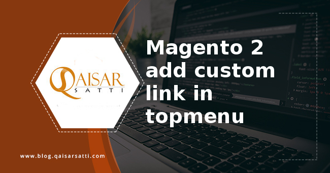 Magento 2 add custom link topmenu