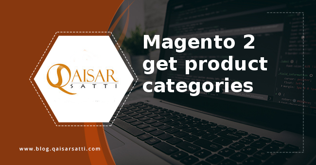 Magento 2 get product categories