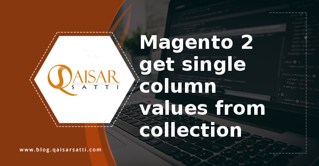 Magento 2 get single column values from collection