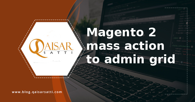 Magento 2 mass action to admin grid