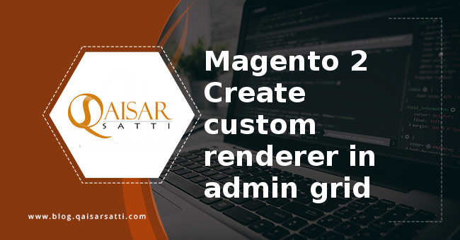Magento 2 Create  custom renderer in admin grid