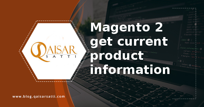 Magento 2 get current product information