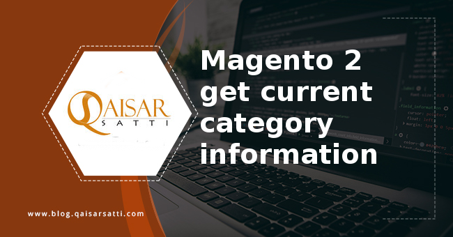 Magento 2 get current category information