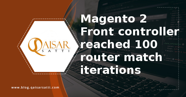 Magento 2 Front controller reached 100 router match iterations