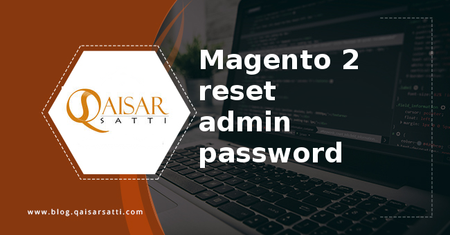 Magento 2 reset admin password