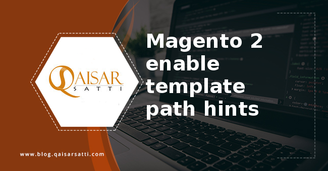 Magento 2  enable template path hints