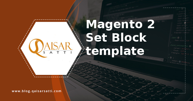 Magento 2 Set Block template