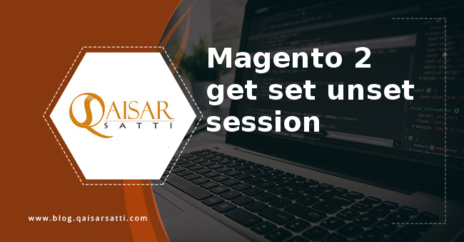Magento 2 get set unset session