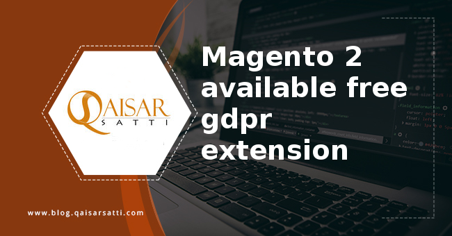 Free Magento 2 GDPR Extensions List