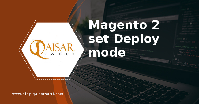Magento 2 set Deploy mode
