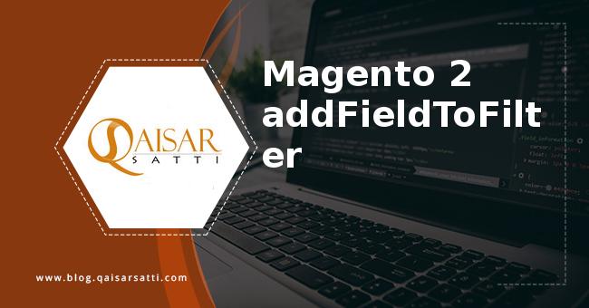 Magento 2 addFieldToFilter
