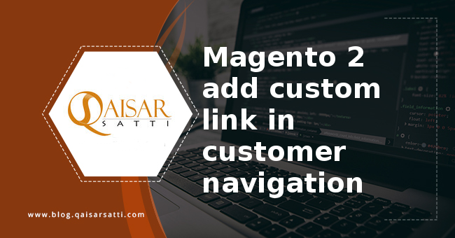 Magento 2 add link customer navigation