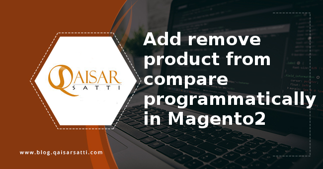 Add remove product from compare programmatically in Magento2