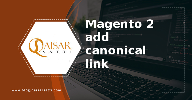 Magento 2  add canonical link