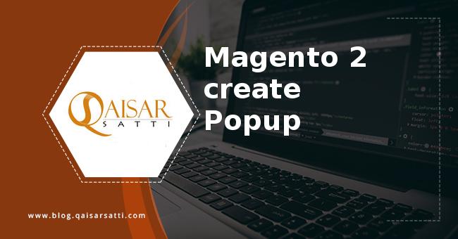 Magento 2 create js Popup