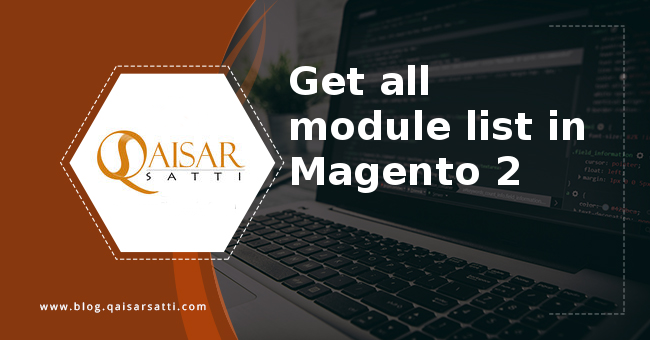 Get all module list in Magento 2