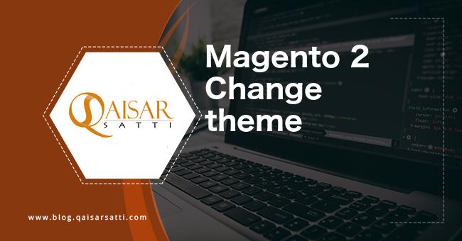 Magento 2 Change theme