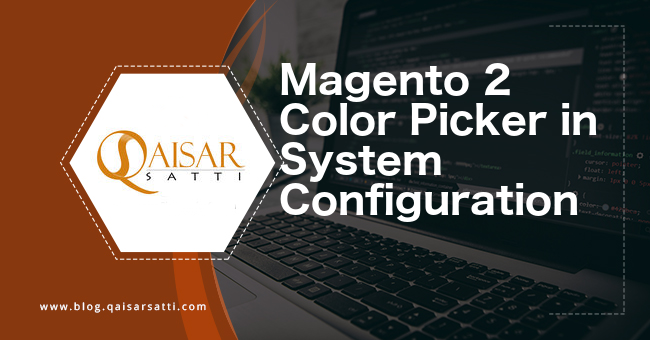 Magento 2 Color Picker in system configuration