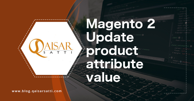 Magento 2 Update product attribute value