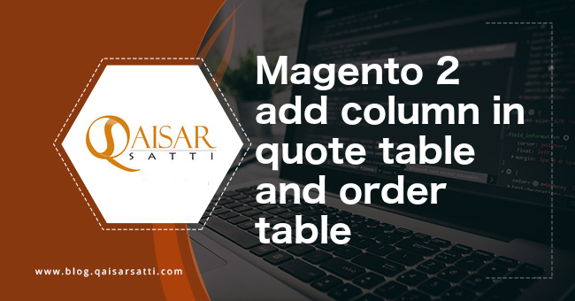 Magento 2 add column in quote table and order table