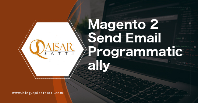 Magento 2 Send Email Programmatically