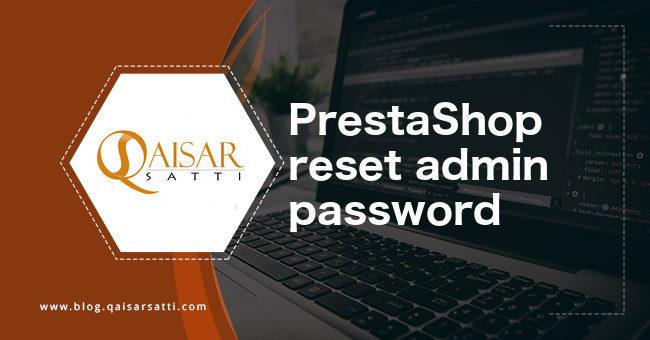 PrestaShop reset admin password