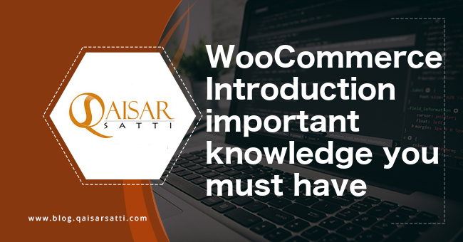 WooCommerce Introduction important knowledge you must have