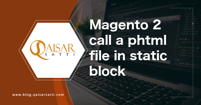 Magento 2 call a phtml file in static block