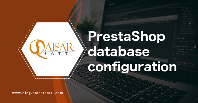 PrestaShop database configuration