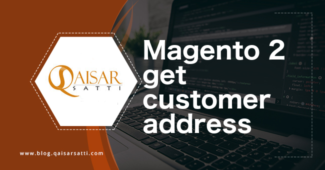 Magento 2 get customer address