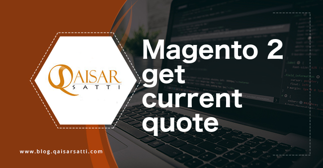 magento 2 get current quote