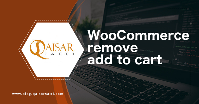 WooCommerce remove add to cart