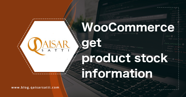 WooCommerce get product stock information
