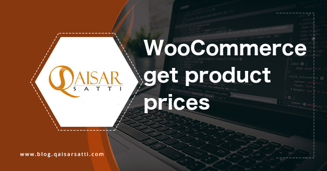 WooCommerce get product prices