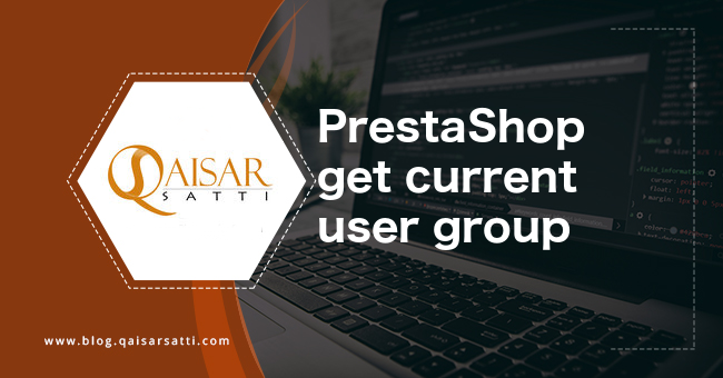 PrestaShop get current user group