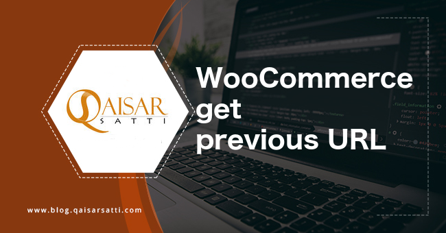 WooCommerce get previous URL