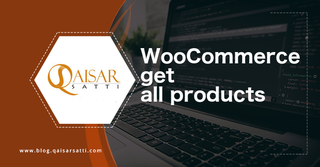 WooCommerce get all products