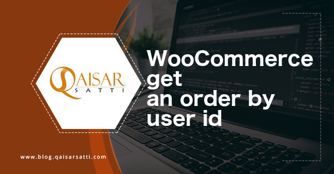 WooCommerce get an order by user id