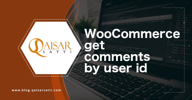 WooCommerce get comments by user id