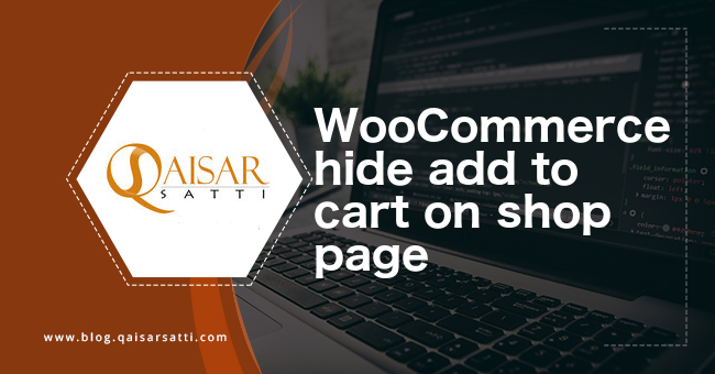 WooCommerce hide add to cart on shop page